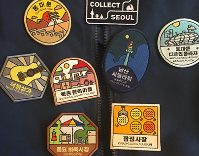 COLLECT SEOUL, PATCH DESIGN