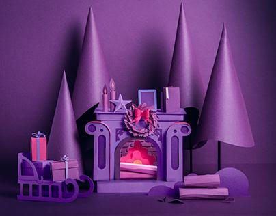 Merry Purple Christmas