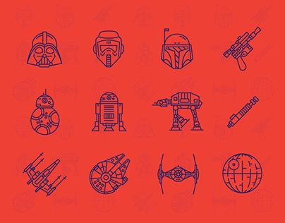Star Wars - Line Icons