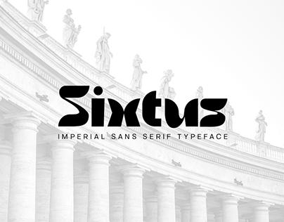 Sixtus - Imperial Typeface