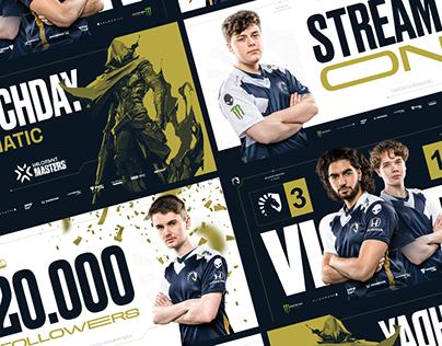 Team Liquid - Announcement Graphics