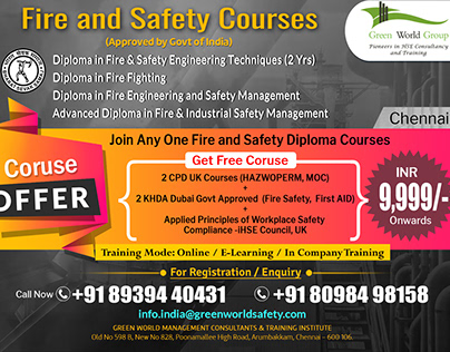 Fire Safety Course in Chennai