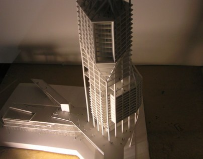 Puerto Madero Tower - 4º year design project (2010)