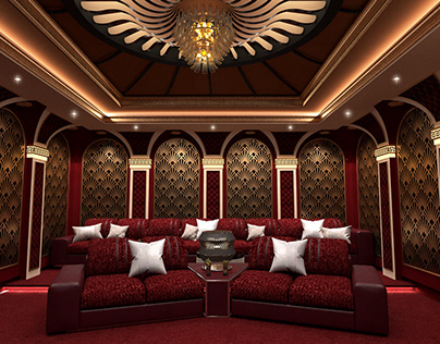 Movie theater family (Neoclassical)