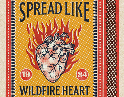 Corazón salvaje safety matches