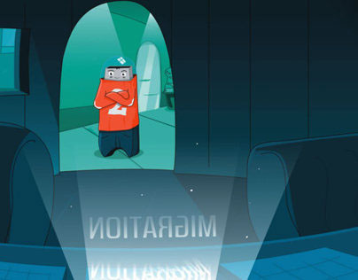 Data Serie, concept for animation television series