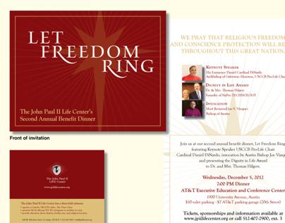 John Paul II Life Center Benefit Dinner