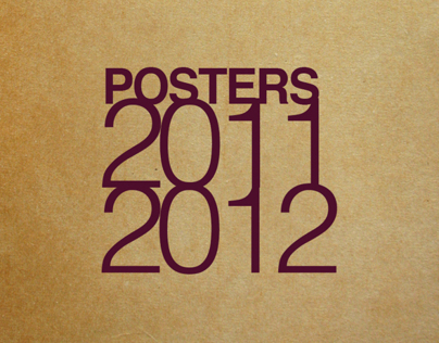 Posters edition - 2011 / 2012