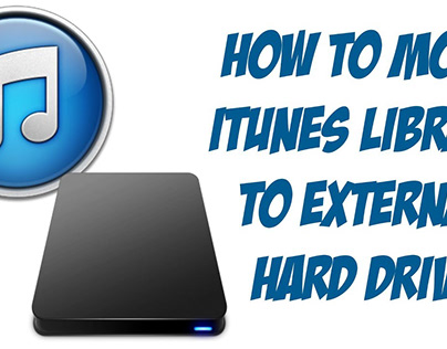 How to Move or Transfer iTunes Library to an External
