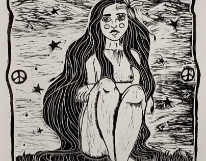 Nature Lady Print