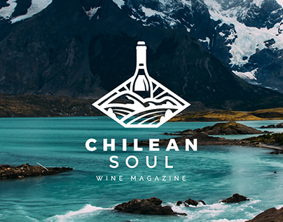 Chilean Soul Wine Magazine Logo Design Entry