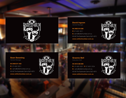 Rattle N Hum | Print Collateral