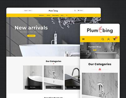 Plumbing & Hardware PrestaShop eCommerce Website Theme