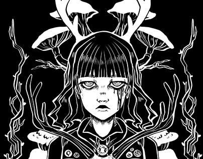 Girl scout Screenprint T-shirt