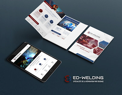 Ed-Welding's website et brochure