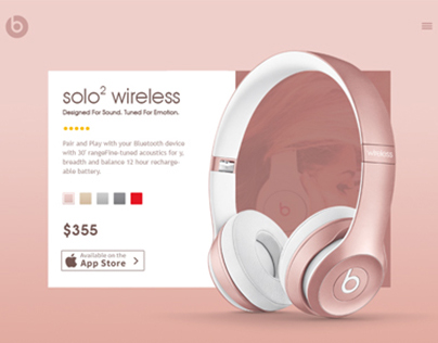 Beats headphone Design Concept