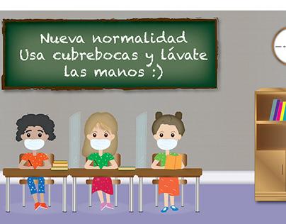 """Ilustraciones """"Nueva normalidad"""""""
