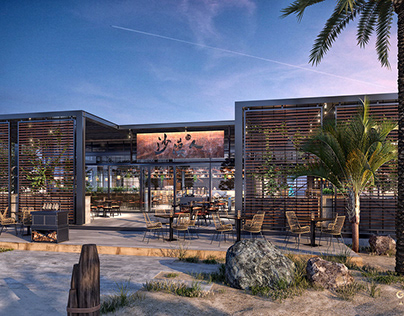 Restaurant Exterior Visual
