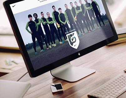 Nike Academy Web + Mobile