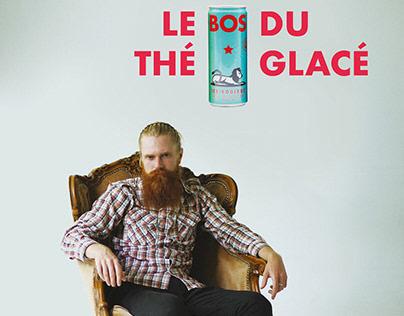 BOS (Ice tea) // Affiche publicitaire