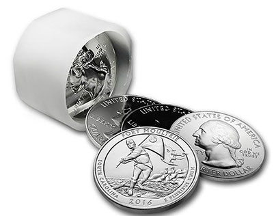 America the Beautiful 5 Ounce Silver - Fort Moultrie