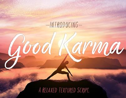 Good Karma Typeface