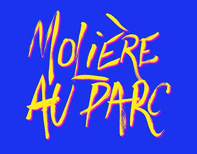 Molière au parc - Affiches d'un festival fictif