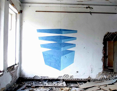 Неосупрематизм (муралы) | Neosuprematism (murals)