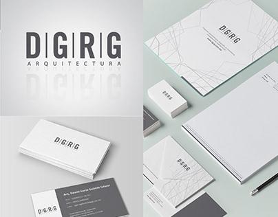 DGRG Arquitectura - Logo and Stationary Design