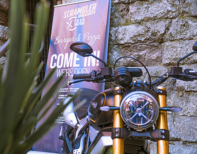 Photoreport - Scrambler Ducati Food Factory