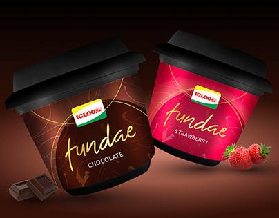 IGLOO Fundae Ice Cream