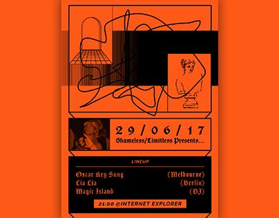 SHAMELESS/LIMITLESS – Poster