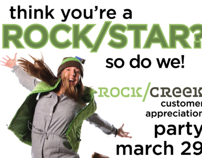 Rock/Creek Customer Appreciation Party