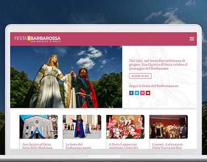 Festa del Barbarossa. Sito internet