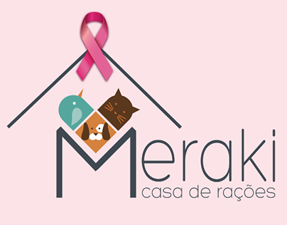 Logotipo - Meraki casa de rações