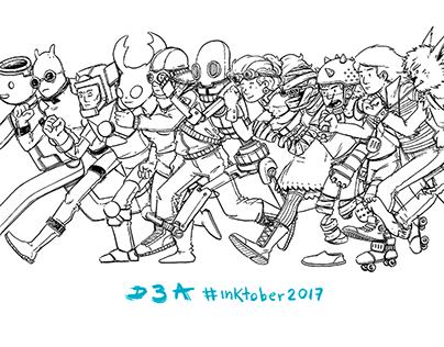#inktober2017 - animated gif