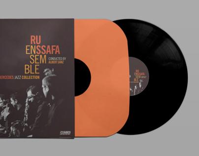 Jazz recordings collection design