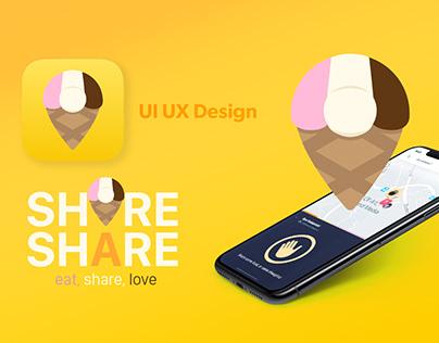 Share Share! Social Food App