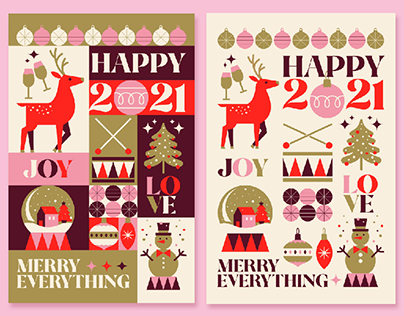 Xmas cards, Gift wraps + Free colouring pages
