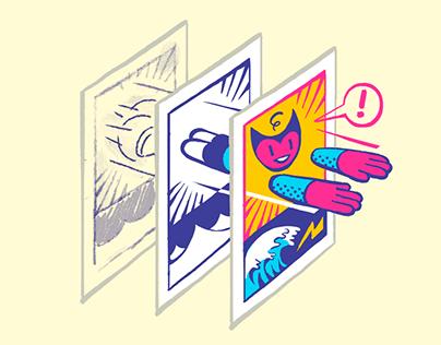 Graphic novel workshops