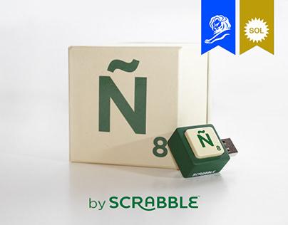 Missing Ñ by Scrabble