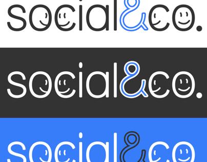 Social & co logo design