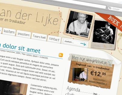 Hans van der Lijke - Personal website