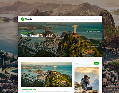 Traveler - Blog WordPress Theme and Templates