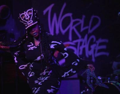 Jimetta + VOC Choir Performance at The World Stage