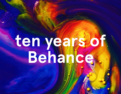 Behance Year in Review 2017: Our 10 Year Anniversary