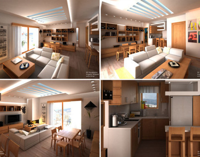 Interior Design Of A Two BedRoom Apartment