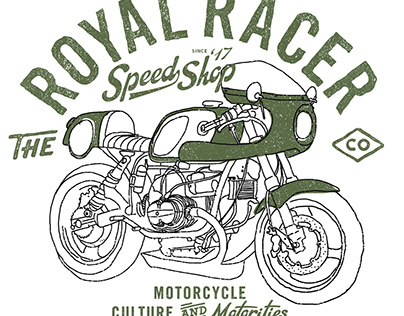 The Royal racer Brand Identity