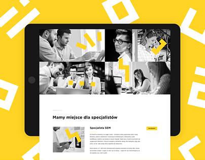 SmartYou – brand identity, website for marketing agency