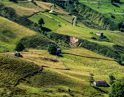 Valleys of Cantabria (Spain)